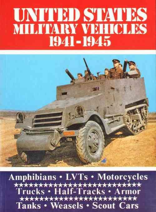 US Military Vehicles 1941 - 1945 - Front Cover
