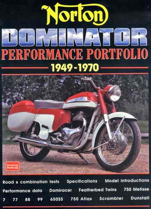 Norton Dominator Performance Portfolio 1949 - 1970 - Front Cover
