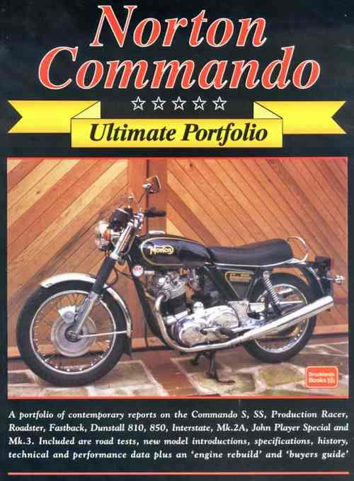 Norton Commando Ultimate Portfolio - Front Cover