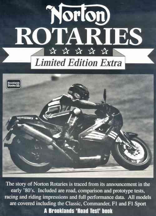 Norton Rotaries Limited Edition Extra - Front Cover