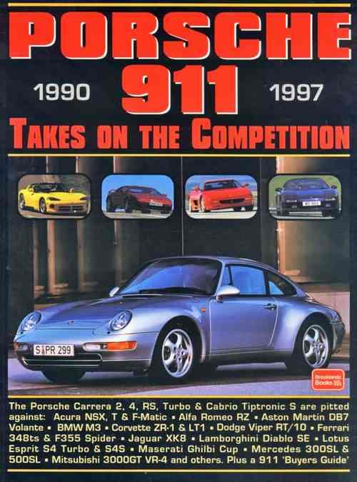 Porsche 911 1990 - 1997 Takes on the Competition - Front Cover