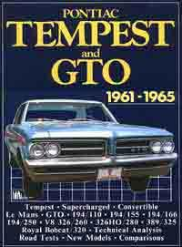 Pontiac Tempest and GTO 1961 - 1965