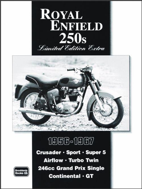 Royal Enfield 250s Limited Edition Extra 1956 - 1967 - Front Cover