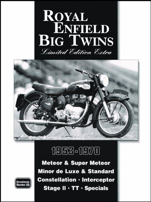 Royal Enfield Big Twins Limited Edition Extra 1953 - 1970 - Front Cover