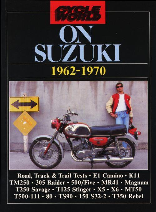 Cycle World on Suzuki 1962 - 1970 - Front Cover