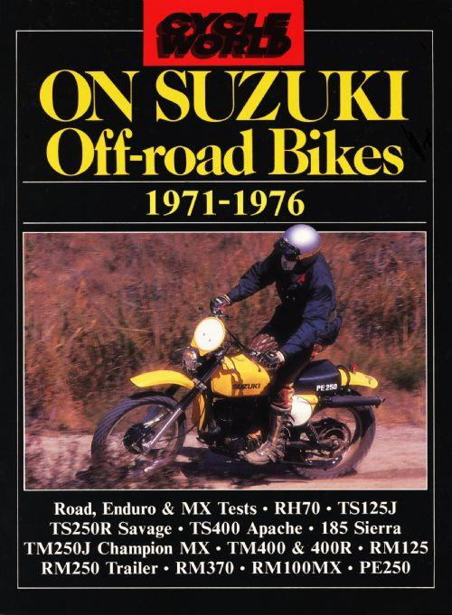 Cycle World on Suzuki Off-Road Bikes 1971 - 1976 - Front Cover