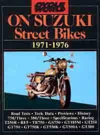 Cycle World on Suzuki Street Bikes 1971 - 1976 - Front Cover