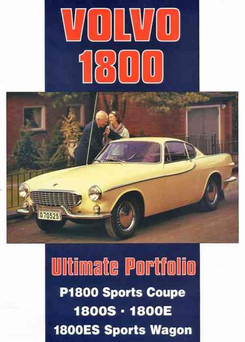 Volvo 1800 Ultimate Portfolio - Front Cover