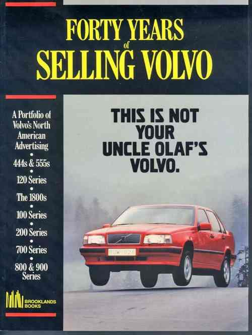 Forty Years of Selling Volvo - Front Cover