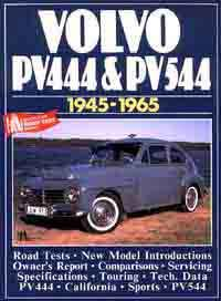 Volvo PV444 & PV544 1945 - 1965 - Front Cover