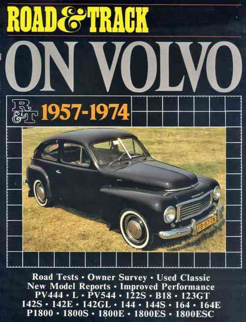 Road & Track on Volvo 1957 - 1974 - Front Cover