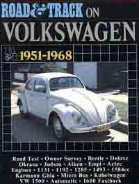 Road & Track on Volkswagen 1951 - 1968 - Front Cover