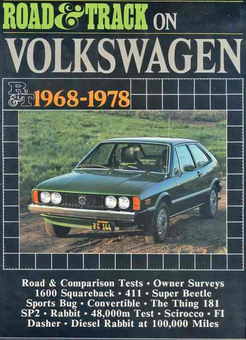 Road & Track on Volkswagen 1968 - 1978 - Front Cover