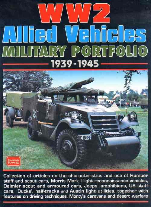 World War 2 Allied Military Vehicles Portfolio 1939 - 1945 - Front Cover