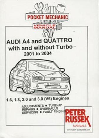 Audi A4 and Quattro - Front Cover