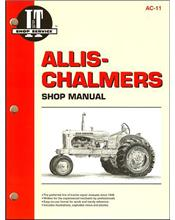 Allis Chalmers Petrol Farm Tractor Owners Service & Repair Manual