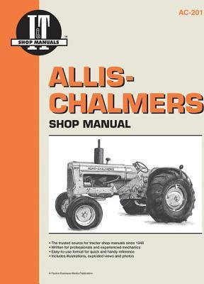 Allis Chalmers Petrol, LP Gas & Diesel Farm Tractor Service & Repair Manual - Front Cover