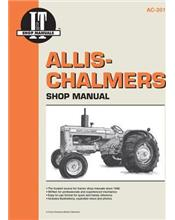 Allis Chalmers Petrol, LP Gas & Diesel Farm Tractor Service & Repair Manual