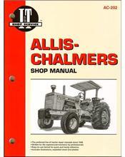 Allis Chalmers Gas & Diesel Farm Tractor Owners Service & Repair Manual
