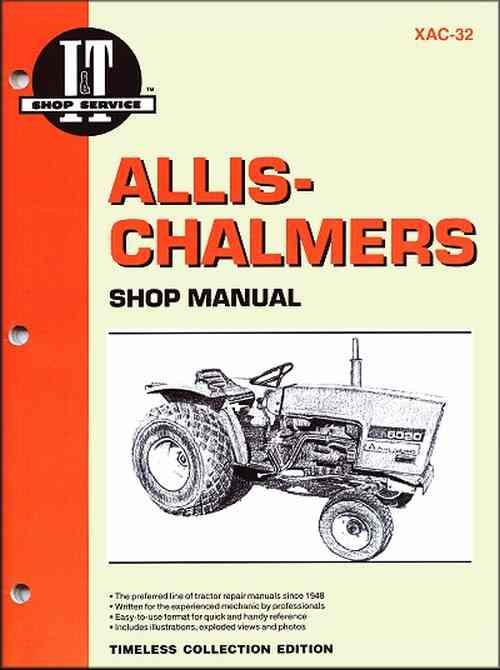 Allis Chalmers 1977 - 1985 Farm Tractor Owners Service & Repair Manual - Front Cover