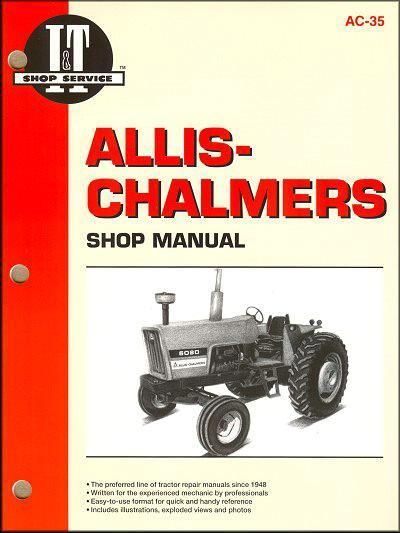 Allis Chalmers Farm Tractor Owners Service & Repair Manual - Front Cover