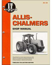 Allis Chalmers 1982 - 1985 Farm Tractor Owners Service & Repair Manual