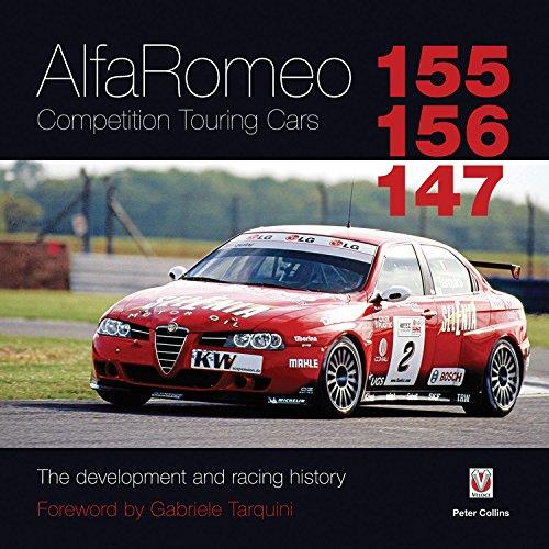 Alfa Romeo 155/156/147 Competition Touring Cars - Front Cover