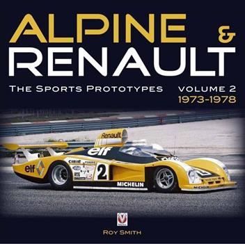 Alpine and Renault : The Sports Prototypes 1973 - 1978 : Volume 2 - Front Cover
