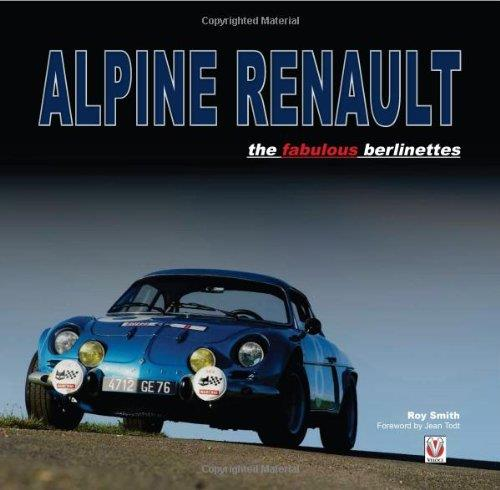 Alpine Renault : The Fabulous Berlinettes - Front Cover