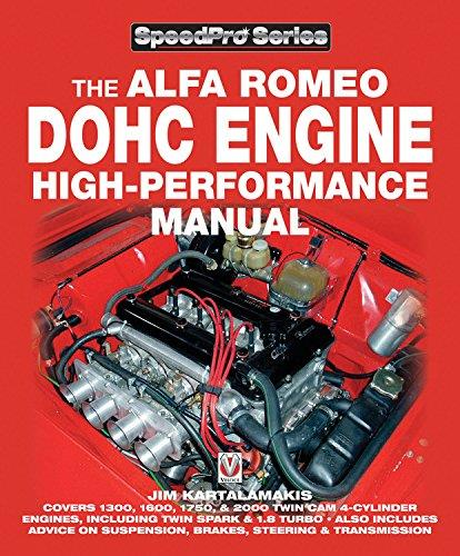 Alfa Romeo DOHC High-performance Manual - Front Cover
