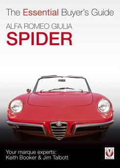 Alfa Romeo Giulia Spider : The Essential Buyers Guide - Front Cover