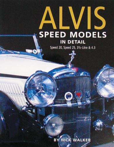 Alvis Speed Models in Detail - Front Cover