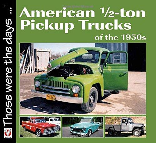 American 1/2-ton Pickup Trucks of the 1950s - Front Cover