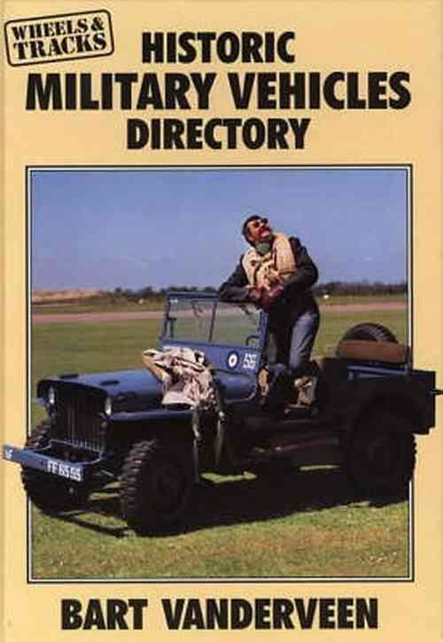 Historic Military Vehicles Directory - Front Cover