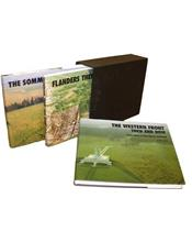 France and Flanders : Then and Now (3 Volume Box Set)