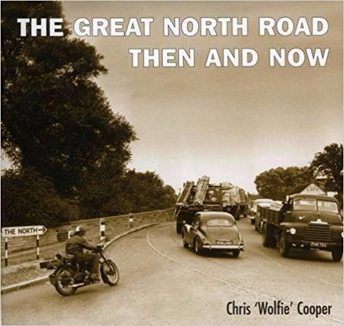 The Great North Road Then and Now - Front Cover