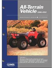ATV 1988 - 1992 Clymer Owners Service & Repair Manual