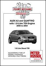 Audi A3 and Quattro 2000 - 2004 Repair Manual - Front Cover