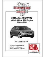Audi A3 and Quattro 2000 - 2004 Repair Manual