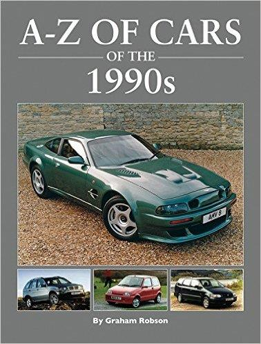 A - Z of Cars of the 1990s - Front Cover