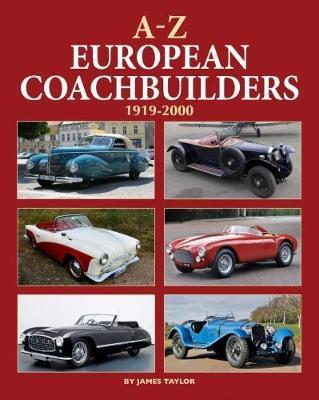 A-Z of European Coachbuilders - Front Cover