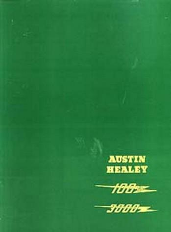 Austin-Healey 100/6 & 3000 Workshop Manual - Front Cover