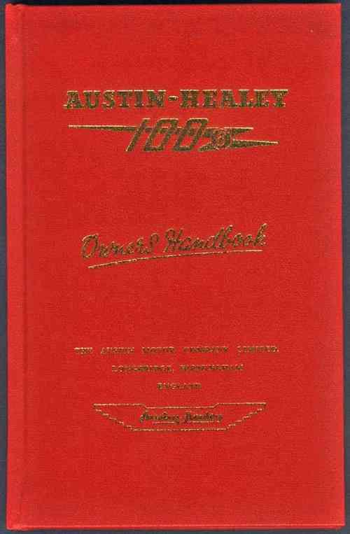 Austin-Healey 100/6 Owners Handbook - Front Cover