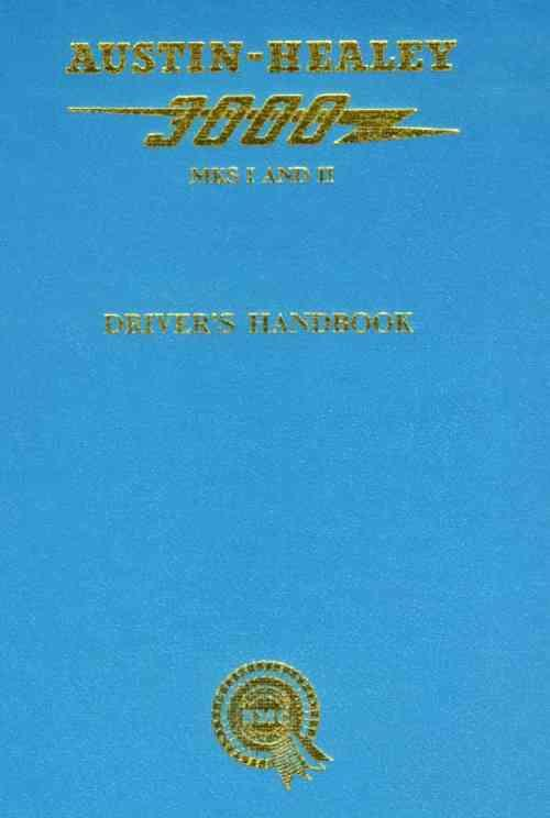 Austin-Healey 3000 Mks I and II Driver's Handbook - Front Cover