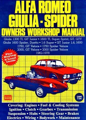 alfa romeo alfetta 1973 1987 service repair manual