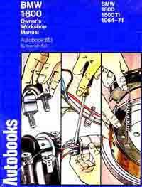 BMW 1800 & 1800TI Workshop Manual 1964 - 1971