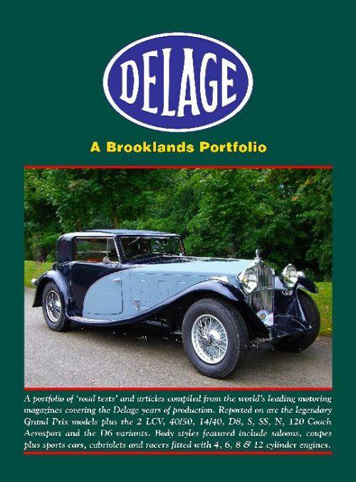 Delage (Special Order Only) - Front Cover