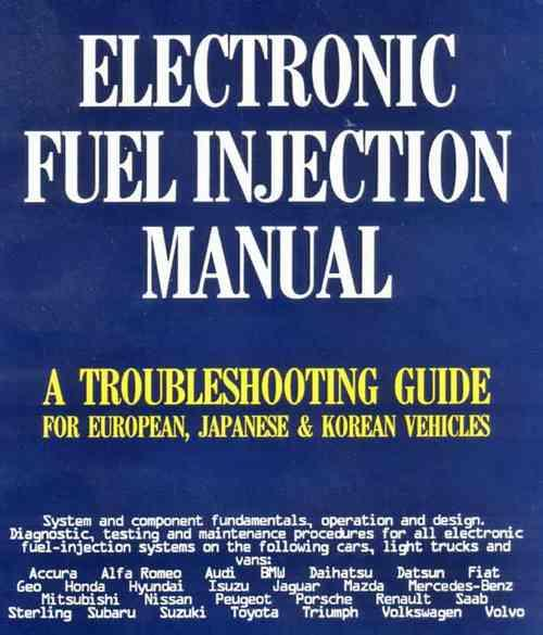 Electronic Fuel Injection Manual - Front Cover