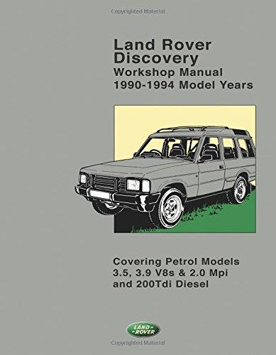 Land Rover Discovery 1990 - 1994 Owners Workshop Manual - Front Cover
