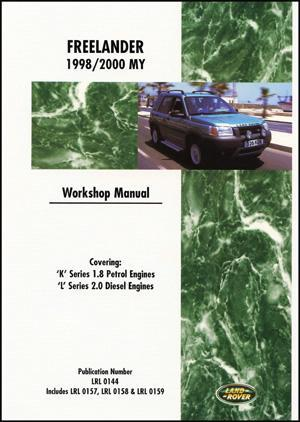 Land Rover Freelander 1998 - 2000 Owners Service & Repair Manual - Front Cover